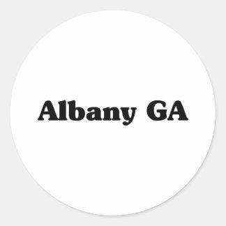 Albany GA Classic t shirts Classic Round Sticker