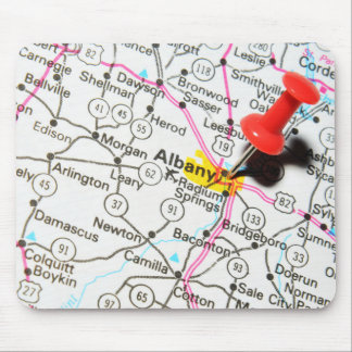 Albany, New York Mouse Pad