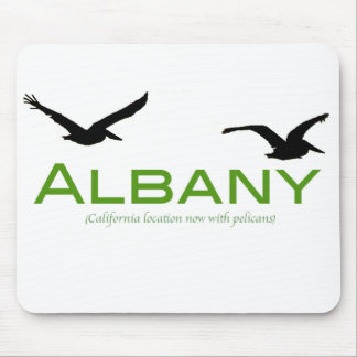 Albany, now with pelicans mouse pad