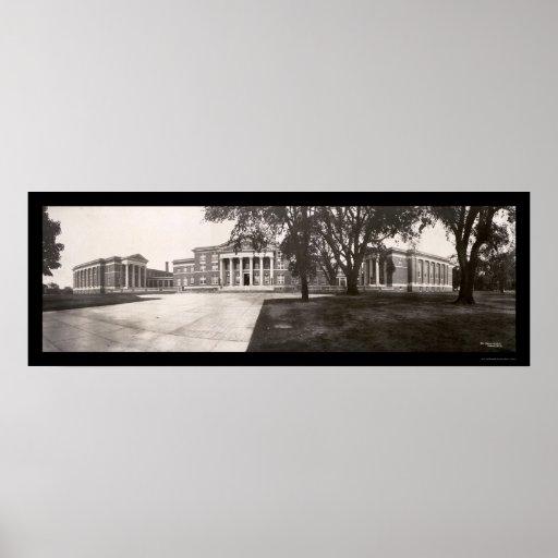 Albany NY Normal School Photo 1909 Poster