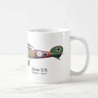 Albatros D.V. ww1 German Fighter Plane Bäumer Coffee Mug