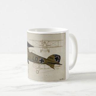 Albatros Lt. Von Hipple WWI Coffee Mug