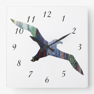Albatross Animal silhouette Clocks