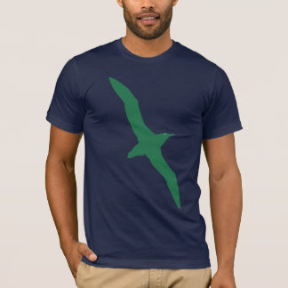 Albatross Bird T-Shirt Green