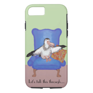 Albatross Illustration iPhone 7 Case