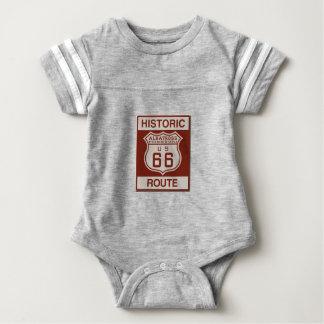 Albatross Route Sixty Six Baby Bodysuit
