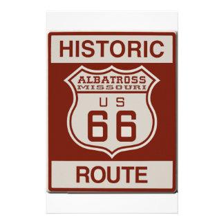 Albatross Route Sixty Six Stationery