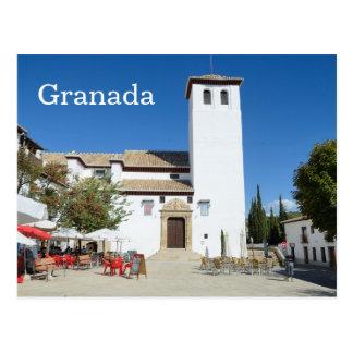 Albayzin, Granada Postcard