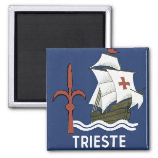 Albergo Columbia Genoa ~ Trieste Magnet