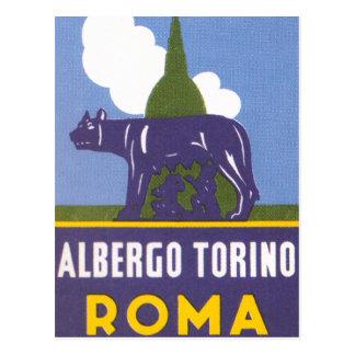 Albergo Torino Postcard
