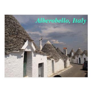 Alberobello postcard
