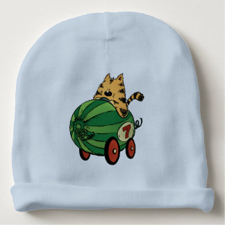 Albert and his watermelon ride baby beanie