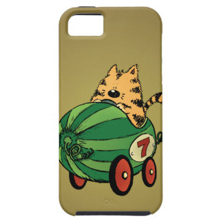 Albert and his watermelon ride case for the iPhone 5
