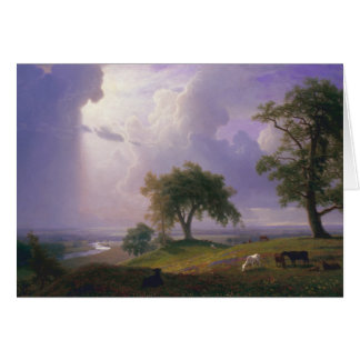 Albert Bierstadt - California Spring Card