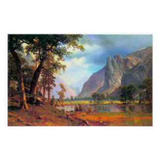 Albert Bierstadt-Yosemite Valley 2 Poster