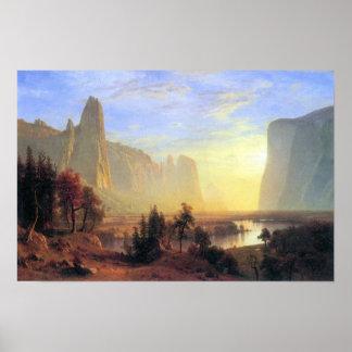 Albert Bierstadt-Yosemite Valley Poster