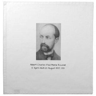 Albert Charles Paul Marie Roussel 1913 Napkin