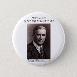Albert Coates 2 Inch Round Button