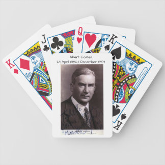 Albert Coates Bicycle Playing Cards