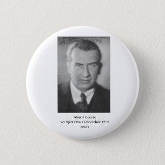 Albert Coates c1924 2 Inch Round Button