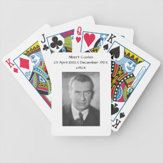 Albert Coates c1924 Bicycle Playing Cards