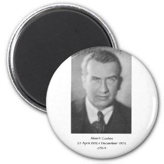 Albert Coates c1924 Magnet