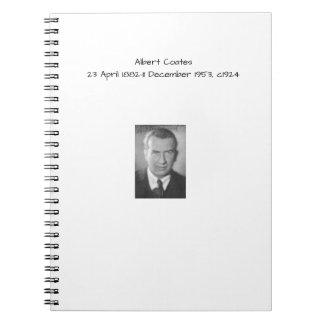 Albert Coates c1924 Notebook