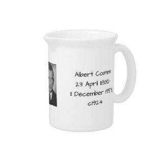 Albert Coates c1924 Pitcher