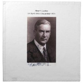 Albert Coates Napkin