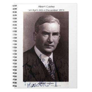 Albert Coates Notebook