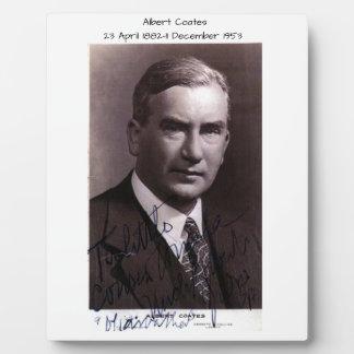 Albert Coates Plaque