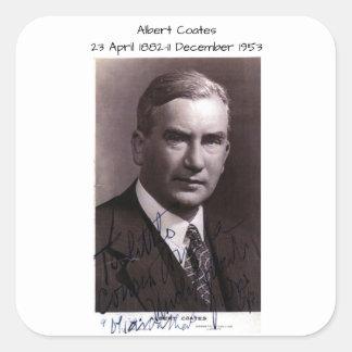 Albert Coates Square Sticker