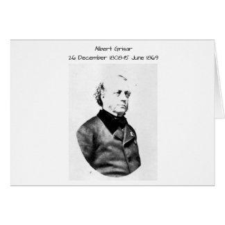 Albert Grisar Card