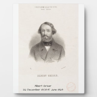 Albert Grisar Plaque