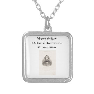 Albert Grisar Silver Plated Necklace