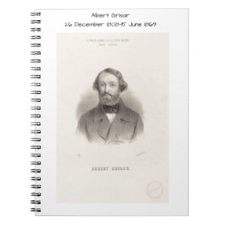 Albert Grisar Spiral Notebook
