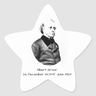 Albert Grisar Star Sticker