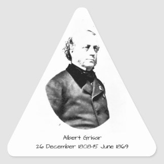 Albert Grisar Triangle Sticker