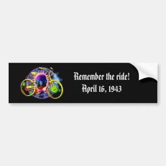 Albert Hofman Comemorative Bumper Sticker