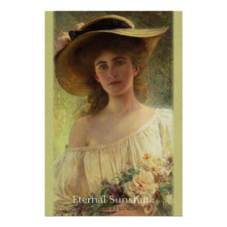 Albert Lynch Eternal sunshine CC0559 Romantic Poster
