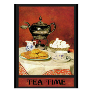 Albert Samuel Anker ~ Tea Time Postcard