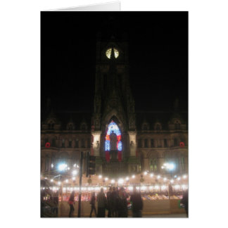 Albert Square German Christmas Market, Manchester Card