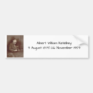 Albert William Ketelbey Bumper Sticker