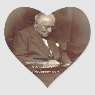Albert William Ketelbey Heart Sticker