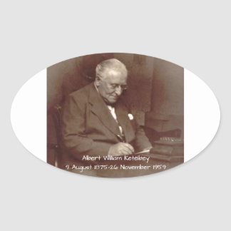Albert William Ketelbey Oval Sticker