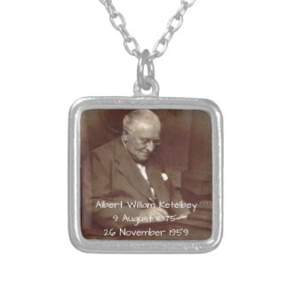 Albert William Ketelbey Silver Plated Necklace