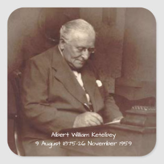 Albert William Ketelbey Square Sticker