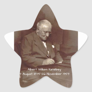Albert William Ketelbey Star Sticker