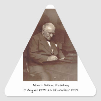 Albert William Ketelbey Triangle Sticker
