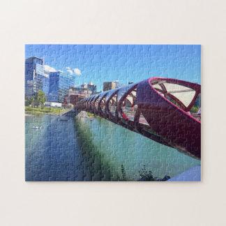 Alberta Bridge Calgary. Jigsaw Puzzle